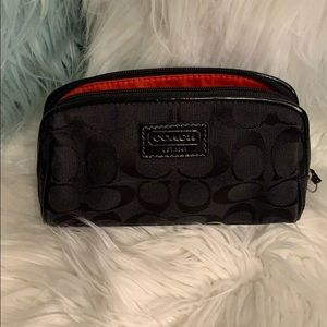 Authentic Coach Cosmetic Pouch -Small